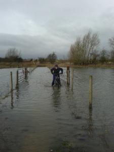 river biking distance