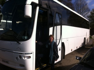 me and bus