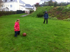 me and eva, football
